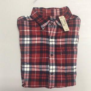 NWT Men's American Eagle Long Sleeve Flannel Shirt